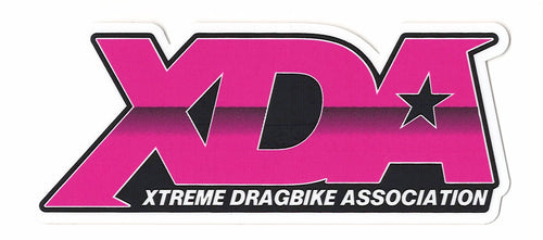 Xtreme Dragbike Association Decal (4.75