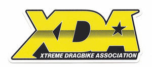 "Xtreme Dragbike Association Decal (4.75"" x 2"") YELLOW"