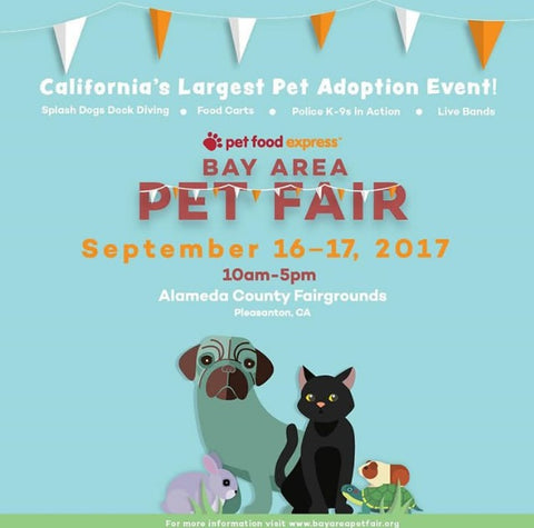 Bay Area Pet Fare Poster