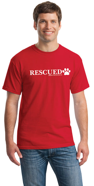 """RESCUED"" Tee for Men (unisex)"