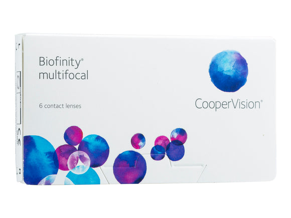 Biofinity Multifocal 6 Pack