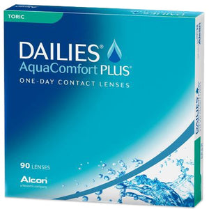 Dailies Aqua Comfort Plus Toric 90 Pack