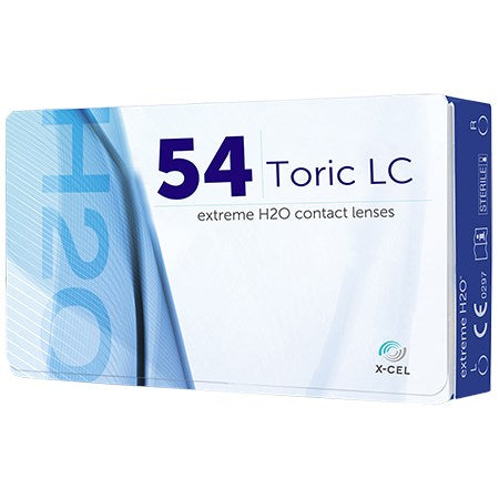 Extreme H2O 54% Toric 6 Pack