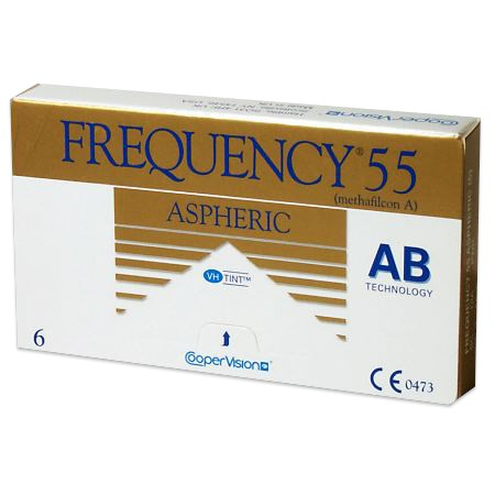 Frequency 55 Aspheric 6 Pack