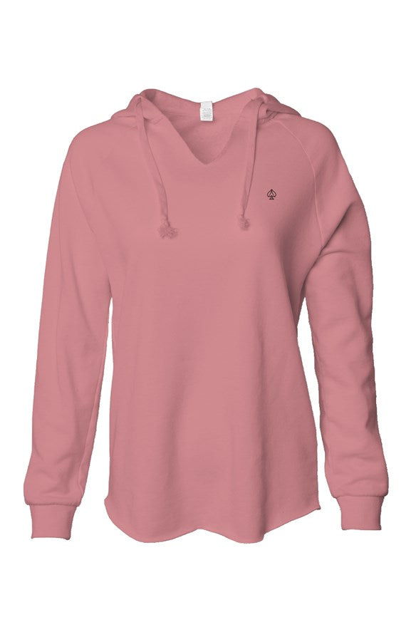 Ace women's low hoodie rose