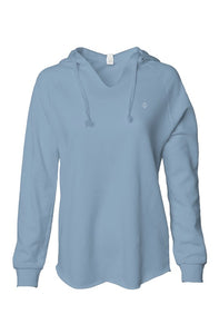 Ace women's low hoodie baby blue
