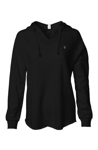 Ace women's low hoodie black