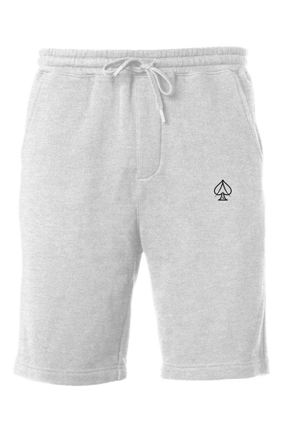 Ace Fleece Shorts - Gray/Black