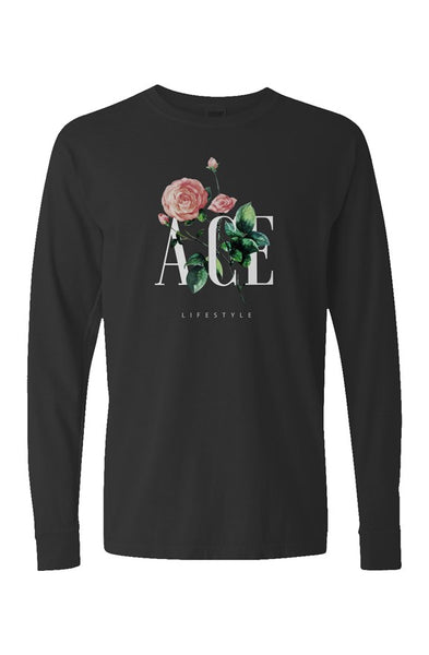 Ace Blossom Long Sleeves - Black