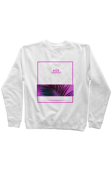 Ace Bloom Sweater - White