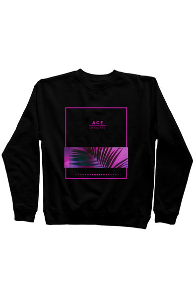 Ace Bloom Sweater - Black