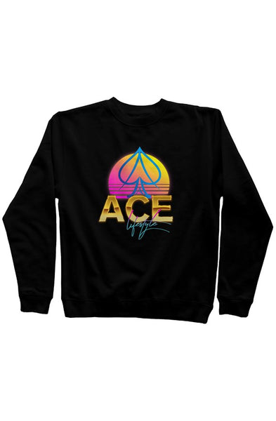 Ace Moonrise Sweater - Black