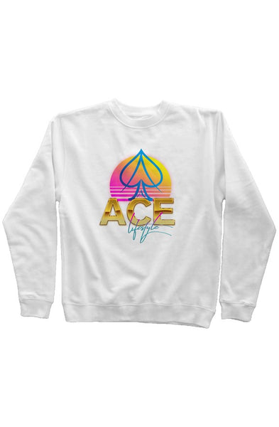 Ace Moonrise Sweater - White