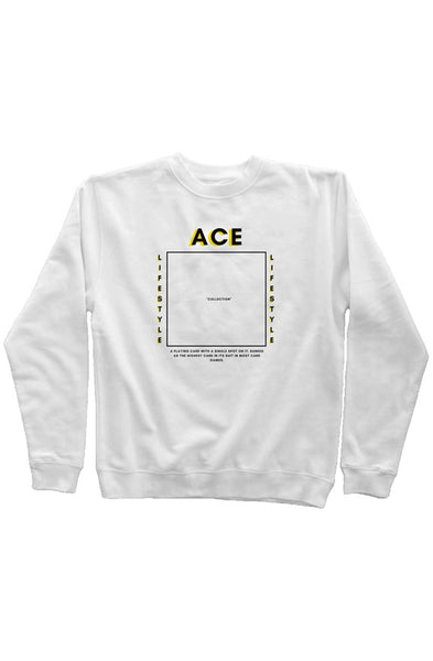 Ace In the Box Sweater - White