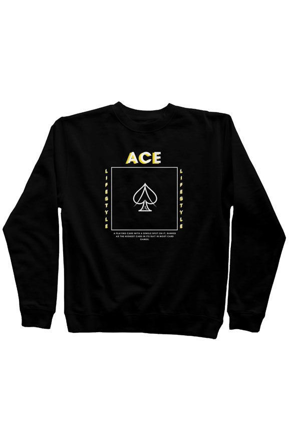 Ace in the Box Sweater - Black
