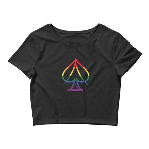 Ace Pride Crop Top