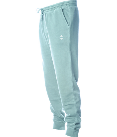 Ace Fleece Joggers - Pigment Mint
