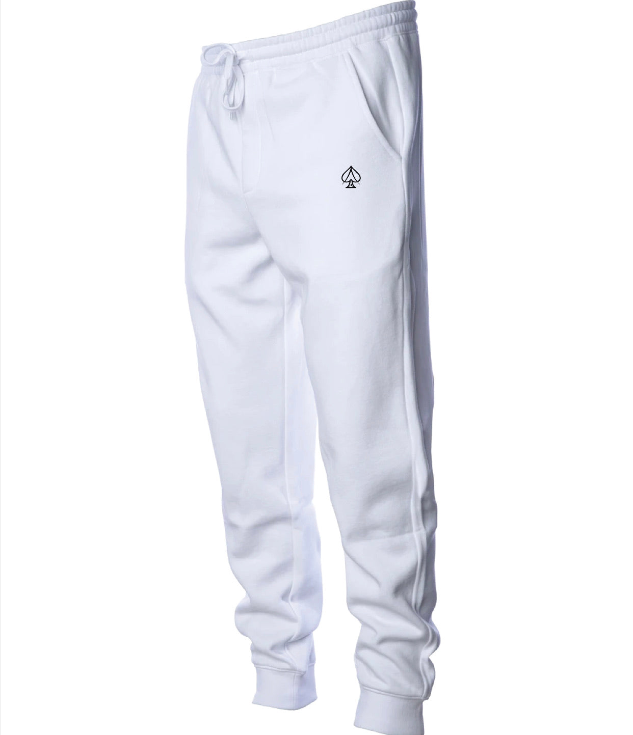 Ace Fleece Joggers - White