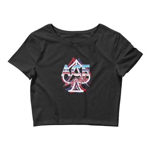 Ace Tri-USA Crop Top