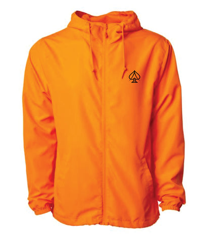Ace Highlight Orange Windbreaker