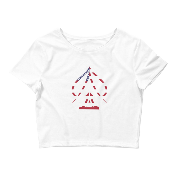 Ace USA Crop Top