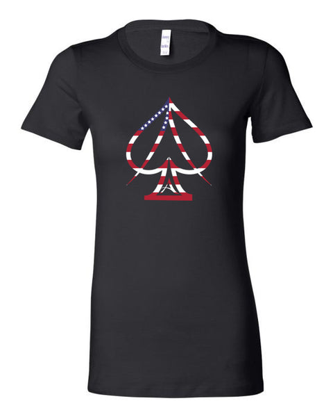 Ace Women's USA Tee