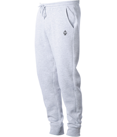 Ace Fleece Joggers - Heather Gray