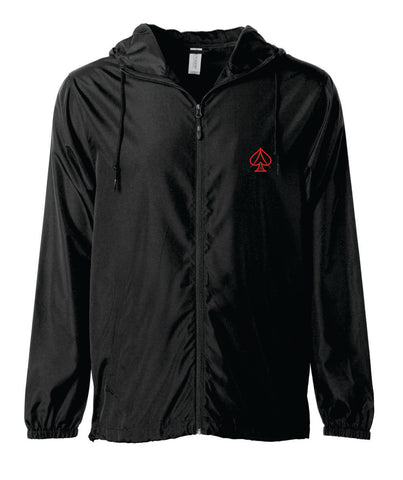 Ace Black Windbreaker