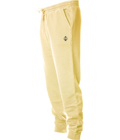 Ace Fleece Joggers - Pigment Yellow