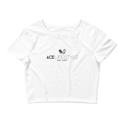Ace Glitch Crop Top