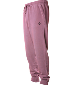 Ace Fleece Joggers - Pigment Maroon