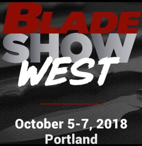 Blade Show Heads West on October 5-7, 2018