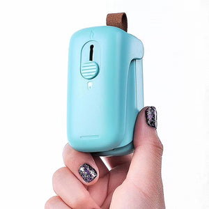 Portable Mini Sealing, 2 in 1 Heat Sealer and Cutter