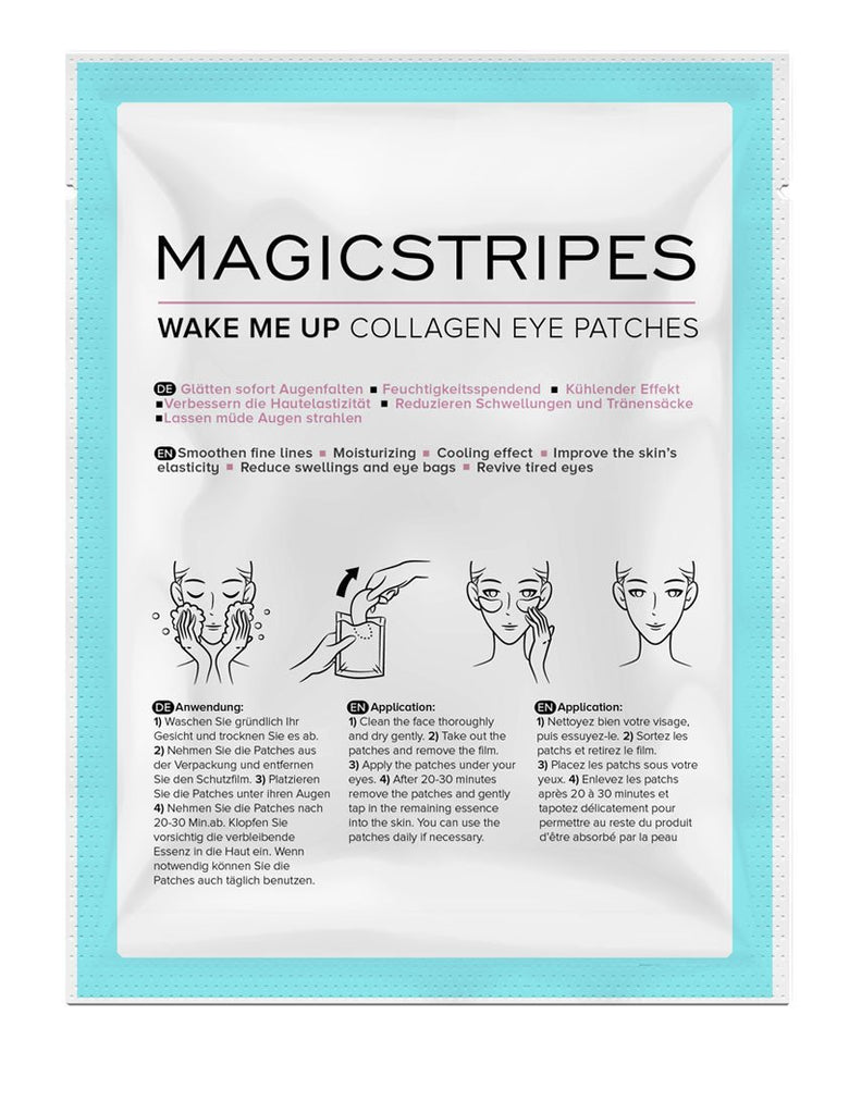 MAGIC STRIPES - WAKE ME UP COLLAGEN EYE PATCHES - SKIN & GOODS