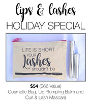 Lips & Lashes Holiday Special