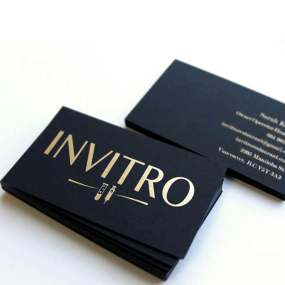Foil Business Cards – The Printing Outlet