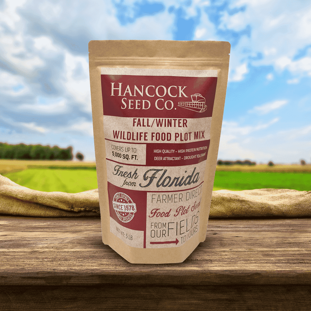Hancock's Fall & Winter Food Plot Seed Mix