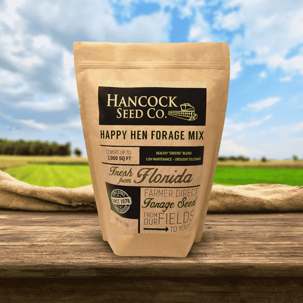 Hancock's Happy Hen Forage Seed Mix