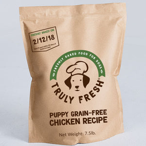 Puppy Food - Freshly Baked Grain-Free Chicken Recipe