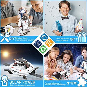 Solar Robot Kit 6-in-1