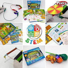 Ridiculous Inventions Science Kit for Kids - Energy, Electricity & Magnetic Experiments Set
