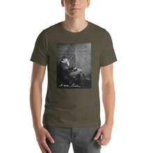 Nikola Tesla Reading Unisex T-Shirt