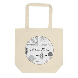 Nikola Tesla's Inventions Eco Tote Bag