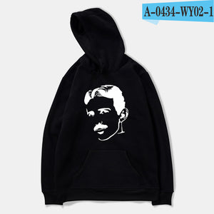 Nikola Tesla Hoody - Classic silhouette of NT on a comfy hooded sweatshirt