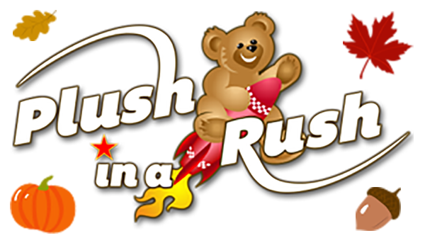 Wholesale Plush in a Rush Logo