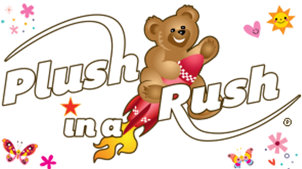 Main Logo for Plush in a Rush - Designer and Distributor of Stuffed Animals