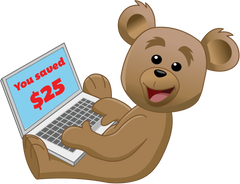 Bear Saving $25