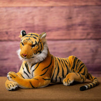 "Wholesale Stuffed Animals -  22"" Laying Tiger  -  1022T"