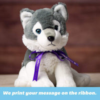 One Spool of Custom-Printed Ribbon