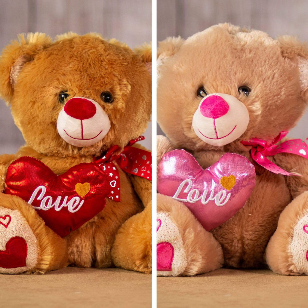 "13"" Bright Heart Bears"